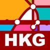 Hong Kong Transport Map - MTR Map & Route Planner app free for iPhone/iPad