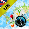 United Kingdom (UK), England, Scotland and Ireland - Offline Map & GPS Navigator