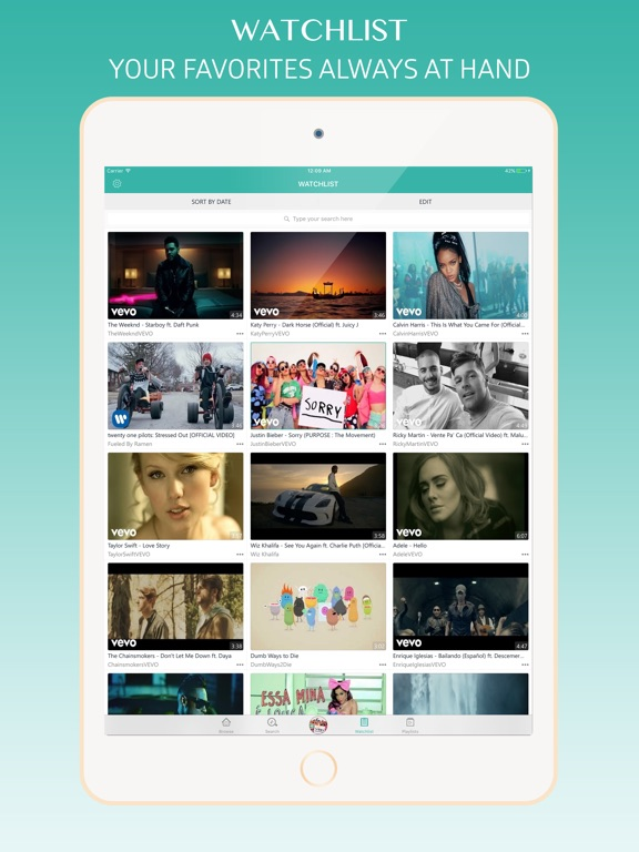 Turbodl - HD Video Music Player & Playlist Manager iOS