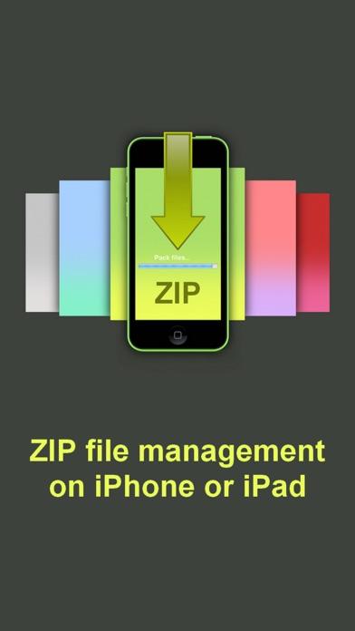 Screenshot of ZIP - ZIP UnZIP Archiver e Strumento1