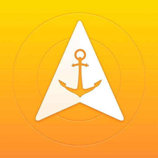 Anchor Pointer Free: GPS Compass iOS App