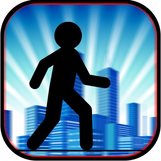 Stickman Sketch Guru Run - Street Jump and Run Game PRO iOS App