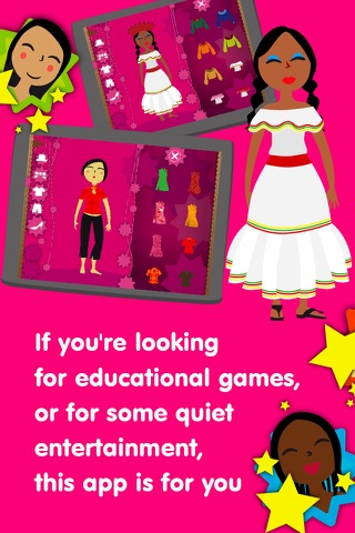 Dress Up Characters - Dressing Games for Toddlers screenshot 3