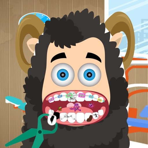 The Tiny Sheep House Dentist Game for Kids iOS App