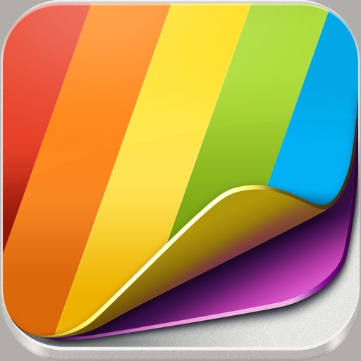 Colorful Wallpapers Lite iOS App