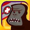 Gorilla Ambulance Rescue - Zoo Emergency Patient Delivery Game For Boys