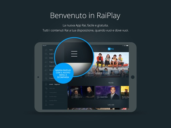 video da raiplay ipad