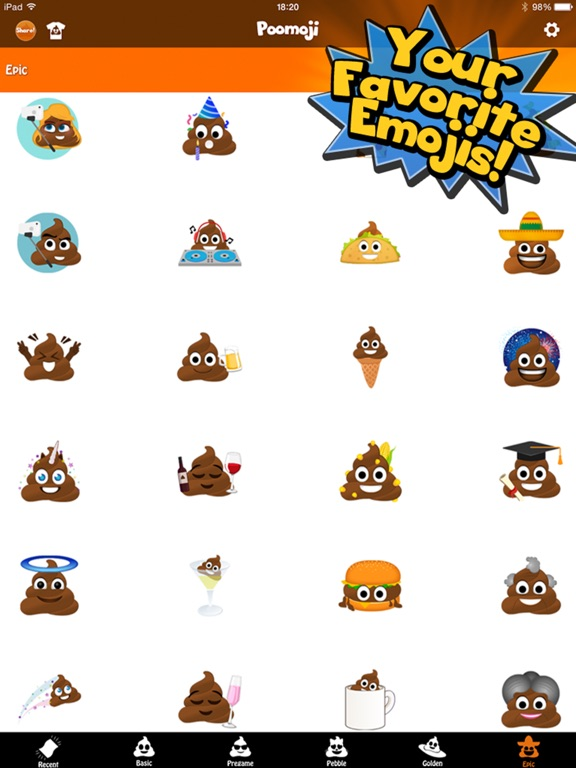 Screenshot #2 for Poomoji