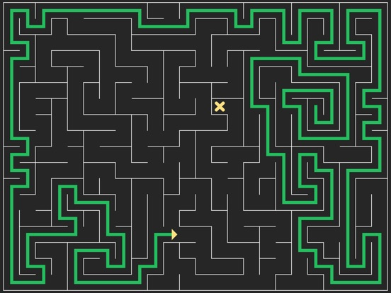 Mazy : Swipe to solve mazes Screenshot