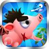 亡命小猪 - 好玩的游戏 App