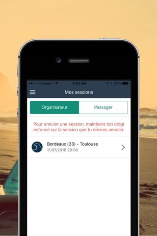 Co-rider — Covoiturage pour les sports de glisse screenshot 2