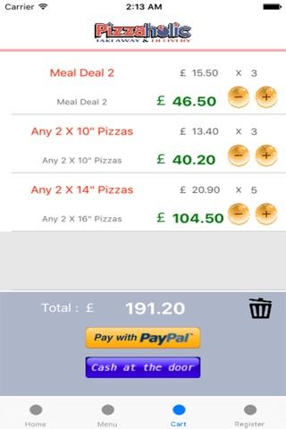 PizzaHolic screenshot 4