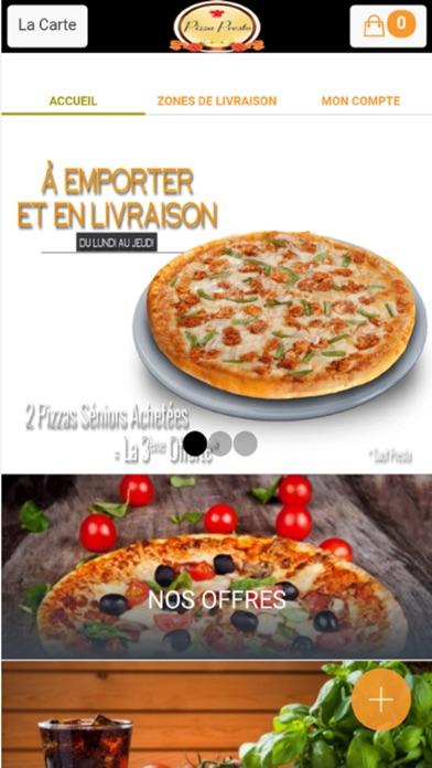 Pizza Presto DivesCapture d'écran de 1