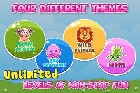 Animals Matching Blocks for Kids Pro screenshot 4