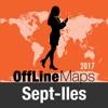 Sept Iles 離線地圖和旅行指南
