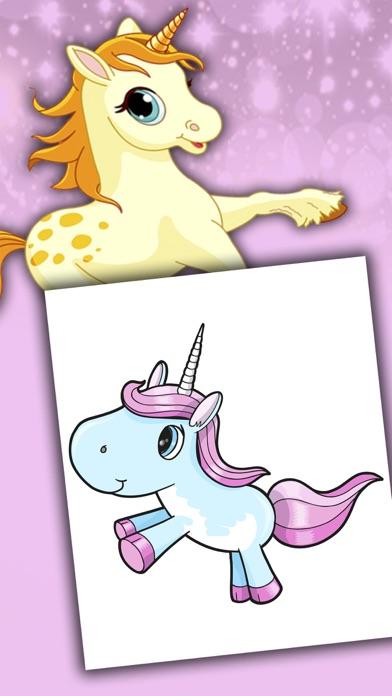 Licornes dessins à peindre et livre à colorierCapture d'écran de 5