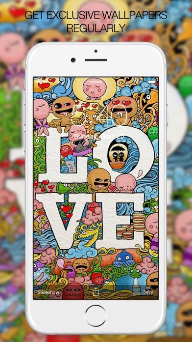 Doodle Wallpapers – Doodle Arts & Backgrounds HD Screenshot