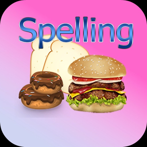 Learn Food English Spelling Word Game For Kids iOS App