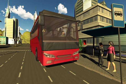 Offroad Tourist Bus Driving Transport Simulator screenshot 1
