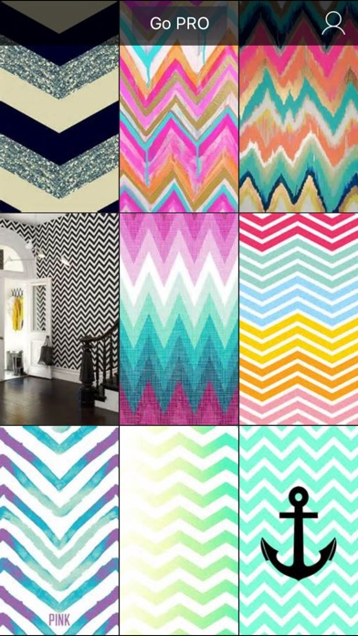 chevron wallpapers hd - cute girly backgrounds app download