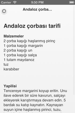 1500 Yemek Tarifi screenshot 4