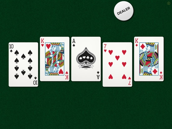The Bold Poker App Makes Stacking Decks in Texas Hold'Em Quite Diffi