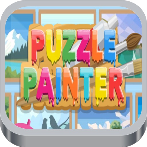 Puzzle Painter Fun Game iOS App