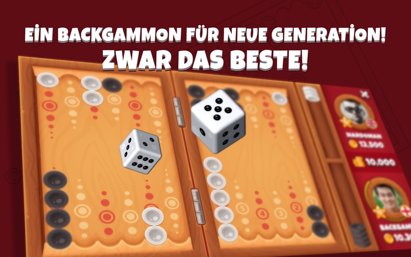 Next Backgammon | Kostenloses Backgammon Spiel Screenshot