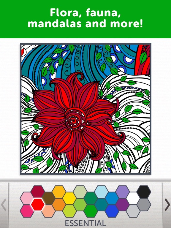 ipad screenshot 3 - Coloring Book App For Adults