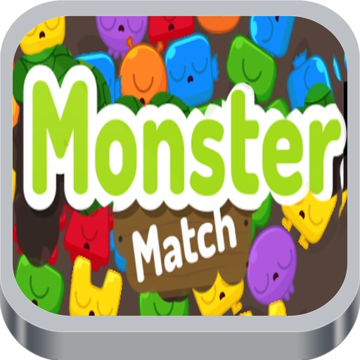Monster Match Colorful Game iOS App