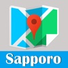 Sapporo metro transit trip advisor guide & JR map