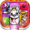 Cats & Kittens Block Sliding Out Brain Train Games block