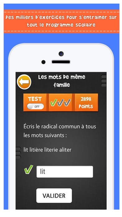 Screenshot #2 pour iTooch Les Bases du Français (FULL)