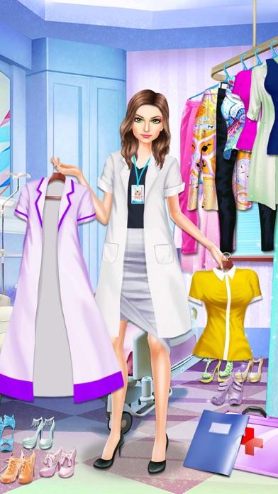 download Médico chica estilista de moda apps 1