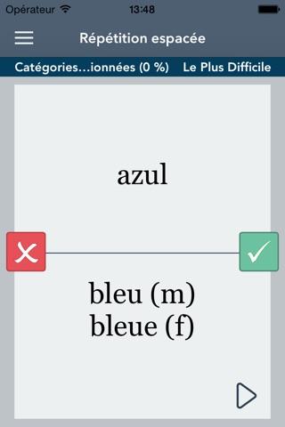 Spanish | French - AccelaStudy® screenshot 3
