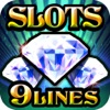 Triple 9 Line Diamond Slot Machine