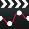 Langsames und schnelles Video - Zeitlupen-Schnitt für Abschnitte von Filmausschnitten