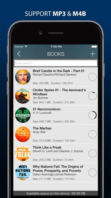MP3 Audiobook Player Pro - listen audiobooks! Screenshots