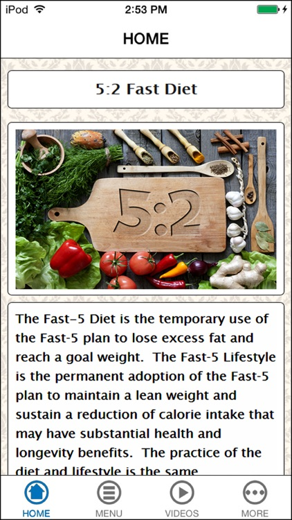 The 52 Fast Diet Plan Meal Guide For Beginners
