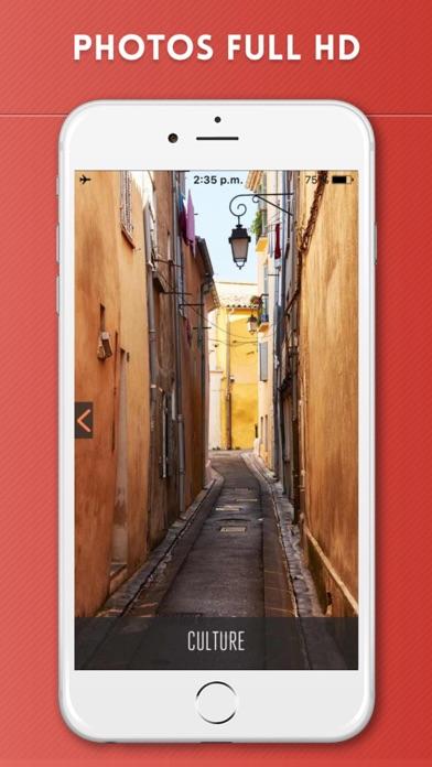 Aix-en-Provence Guide de Voyage avec Carte OfflineCapture d'écran de 2