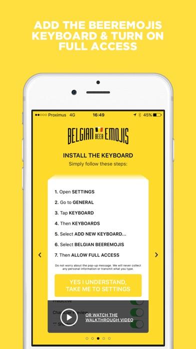 Download Belgian Beeremojis - The image based beer keyboard App