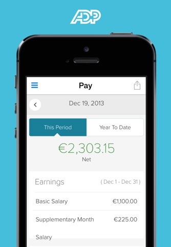 ADP Mobile Solutions screenshot 2
