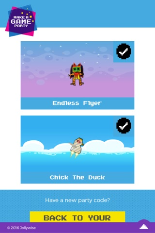 Make A Game Party screenshot 2