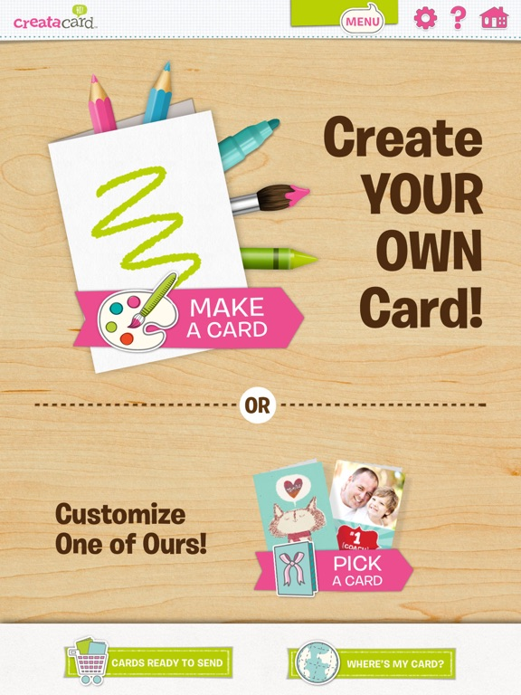 Creatacard Card Maker Create and Send Birthday Cards and More – Birthday Cards for Ipad