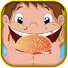 A Flick Burger Burgeria FREE! It's a Happy Cheesburger Drop Game