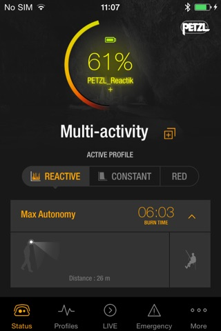 MyPetzl Light screenshot 1