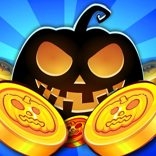 Halloween Coin Dozer haunted Coins pusher games iOS App