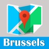 Brussels metro and offline map trip advisor