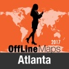 Atlanta Offline Map and Travel Trip Guide