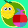 Fruit Fun Match 3 Puzzle Paradise-Fruit Pop Sequel Activity Center For Toddlers and kids